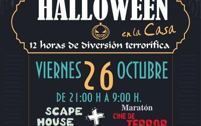 Scape House y Maraton de Cine de Terror en la Casa de la Juventud