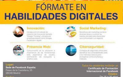 Taller formativo en Habilidades Digitales para jóvenes