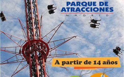 Excursión Parque de Atracciones de Madrid