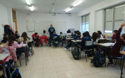 Sesiones de tutoría en el CEIPSO Juan de Goyeneche impartidas por la Casa de la Juventud