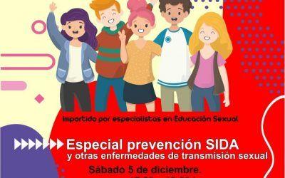 Taller formativo sobre prevención del SIDA y otras enfermedades de transmisión sexual en la Casa de la Juventud