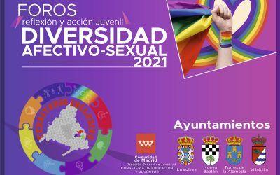 Foros reflexión y acción juvenil sobre Diversidad Afectivo-Sexual
